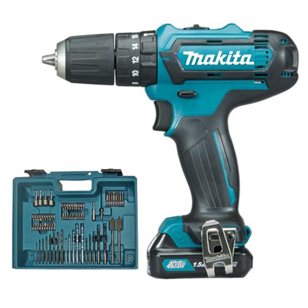 Makita HP331DWAX1 10.8v CXT Combi Drill 2.0Ah Kit
