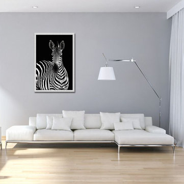 Zebra Modern Abstract Canvas Painting