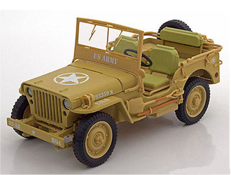 Willys Jeep `Casablanca` (1943) Diecast Model Car
