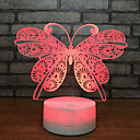 Beautiful Butterfly 3D Night Light Lamp Sleep Home Decor Romantic Birthday Gift Christmas Gift Girl