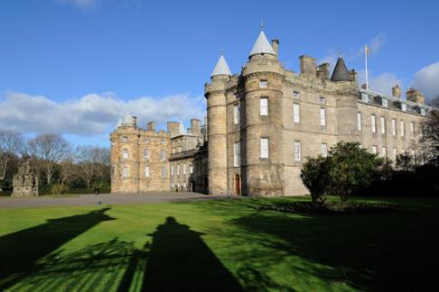 Palace of Holyroodhouse + Queen's Gallery