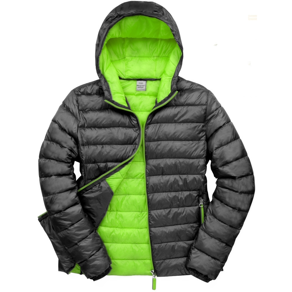 Outdoor Look Mens Bena Warm Padded Hooded Puffer Jacket Coat XL - Chest Size 47'