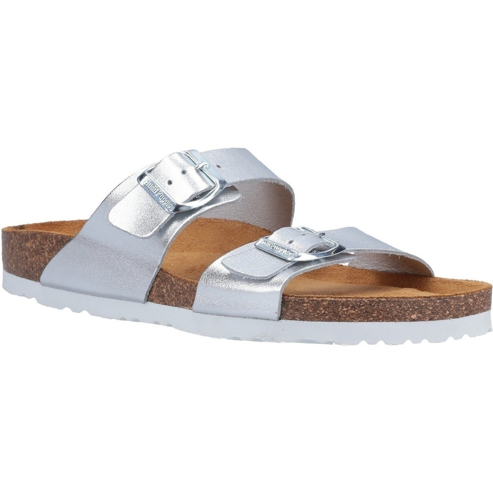 Hush Puppies Womens Kylie Leather Mule Slider Sandals UK Size 3 (EU 36)