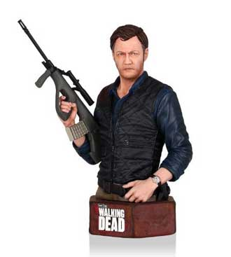 The Governor Mini Bust from The Walking Dead