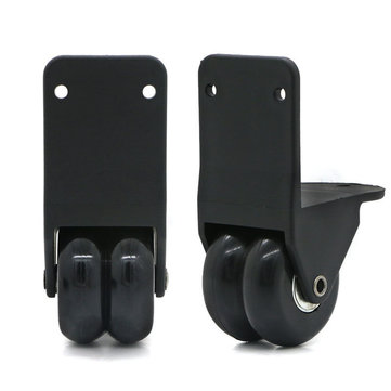 1Pair Rotating Replacement External Luggage Wheel For Any Kind Of Bag Removable Luggage Cover