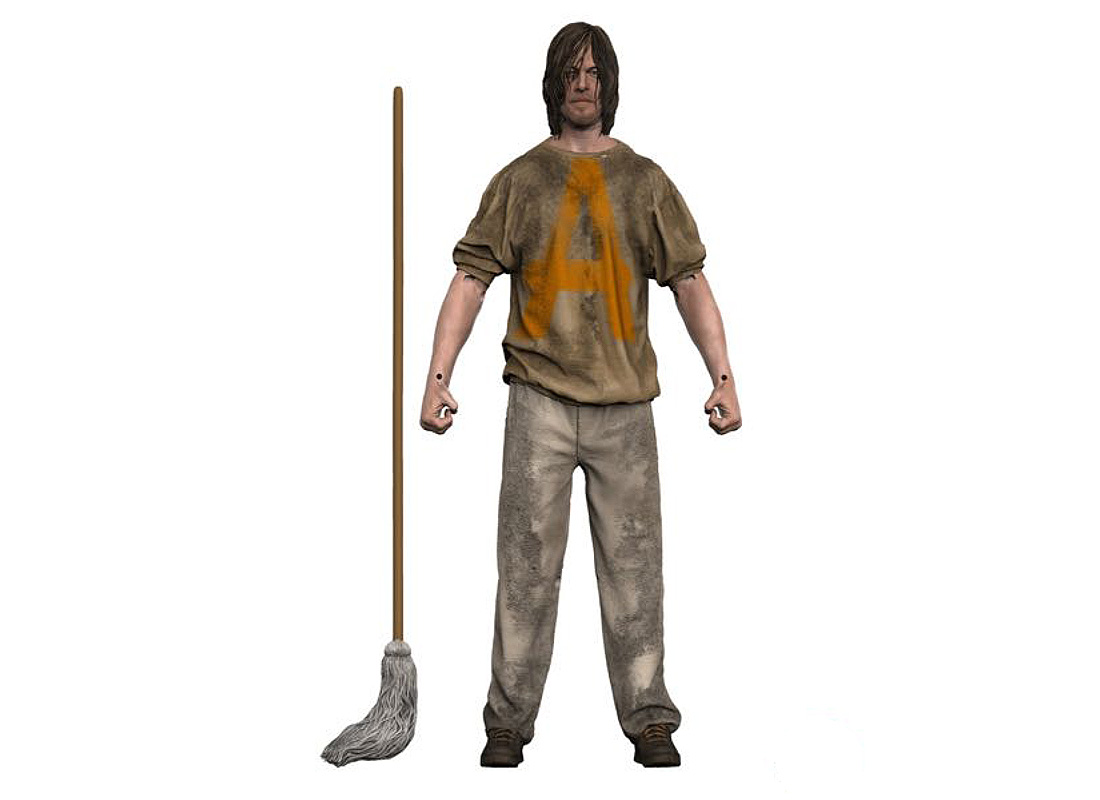 Daryl Savior Prisoner Figure (by McFarlane Toys 14682)