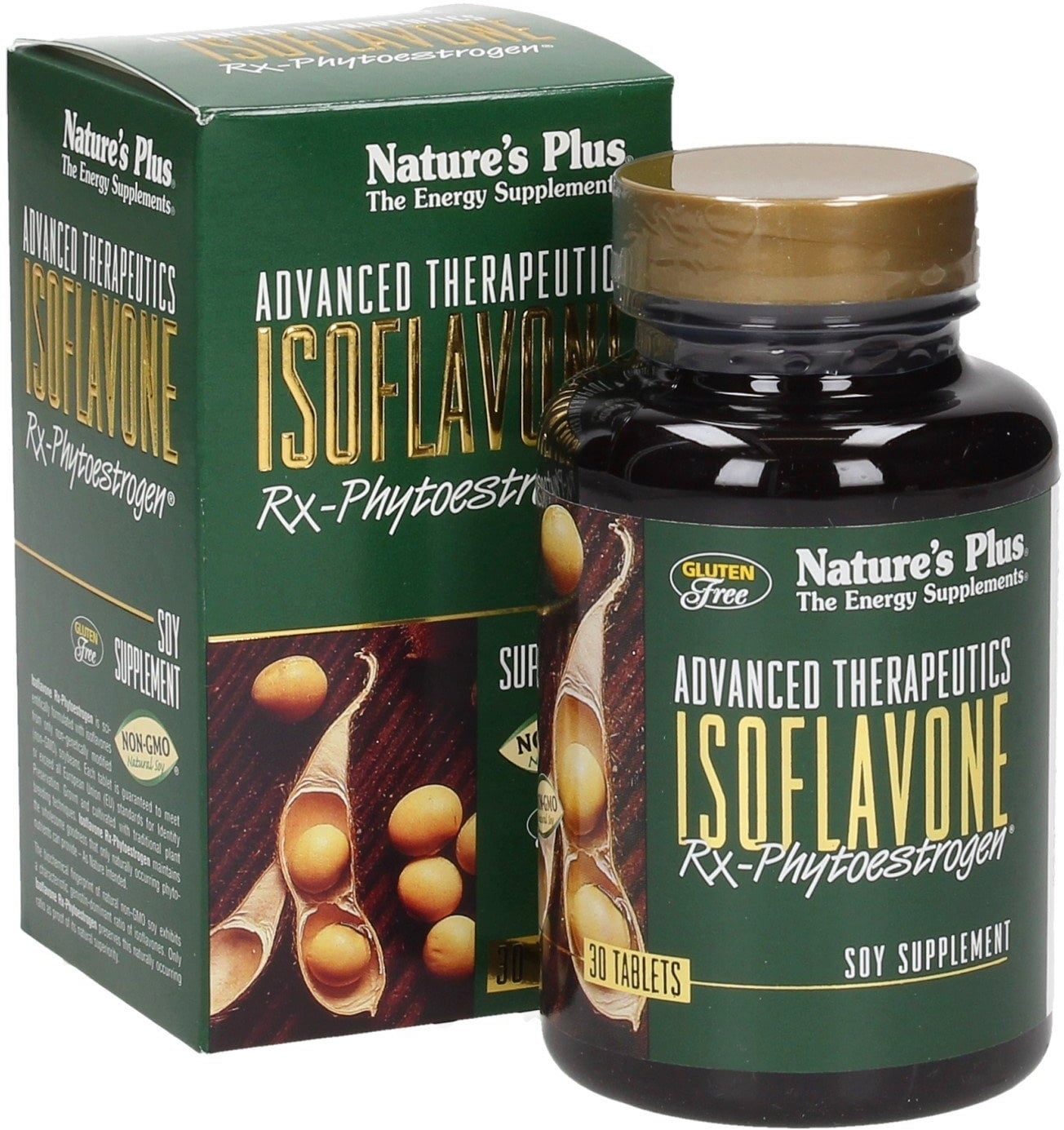 Nature's Plus Rx-Phytoestrogen® Isoflavone