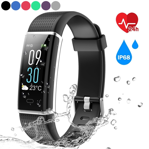 ID130C Farb-Bildschirm IP67 Wasserdicht Smart-Armband-Herzfrequenz-Monitor Sleep Tracker Fitness Smart Armband Smart Watch