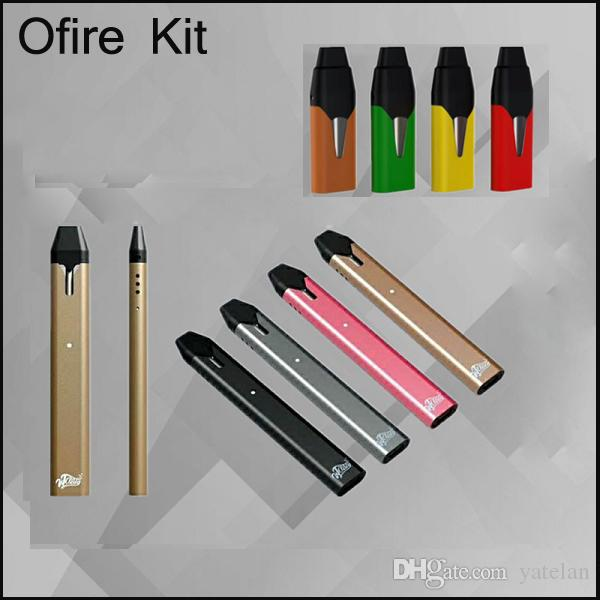Newest OFIRE Kits with Cartridges Disposable Cigarette Pods vape pen Magnetic USB Charger E cig starter kit