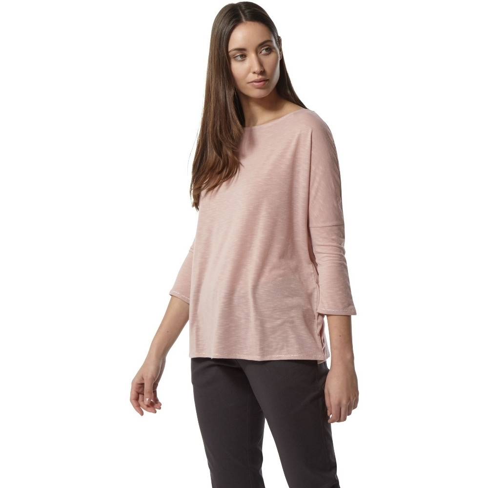 Craghoppers Womens Nosi Life Shelby Long Sleeve Summer Top 14 - Bust 38' (97cm)