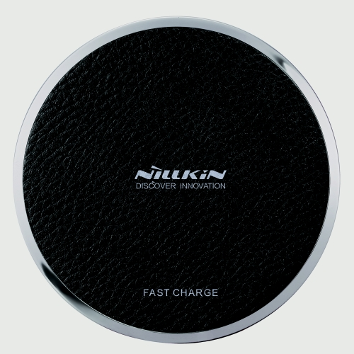 NILLKIN Magic Disk Ⅲ Cargador inalámbrico (Fast Charge Edition) Qi Standard Smart Chip Enengy Saving Safety Protection Cargador rápido inalámbrico para iPhone 8 X Samsung Galaxy S8 Note 8