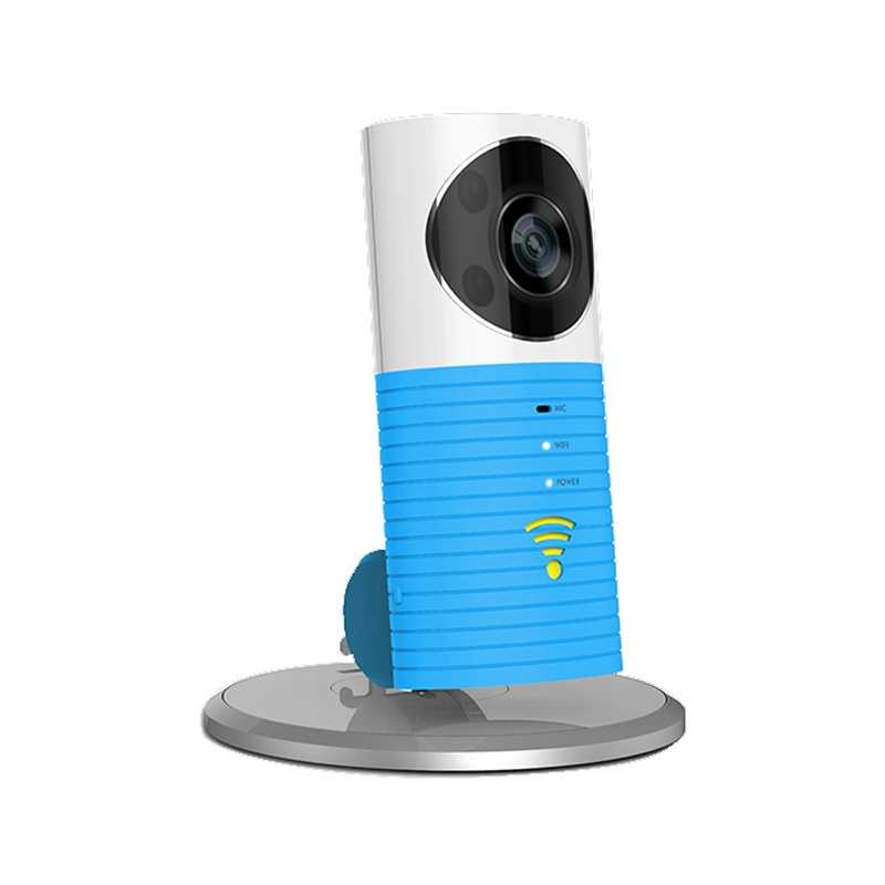 Clever Dog Wireless Smart WiFi Home Security Camera 1080p Upgraded - Blue