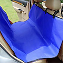 Rodents Dog Cat Car Seat Cover Breathable Foldable Pet Oxford Cloth Solid Colored Blue