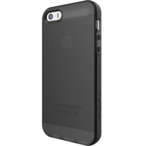Incipio NGP Flexible Impact-Resistant Case - Hintere Abdeckung für Mobiltelefon - Flex2O polymer - Translucent Black - für Apple iPhone SE (IPH-1439-TBK)