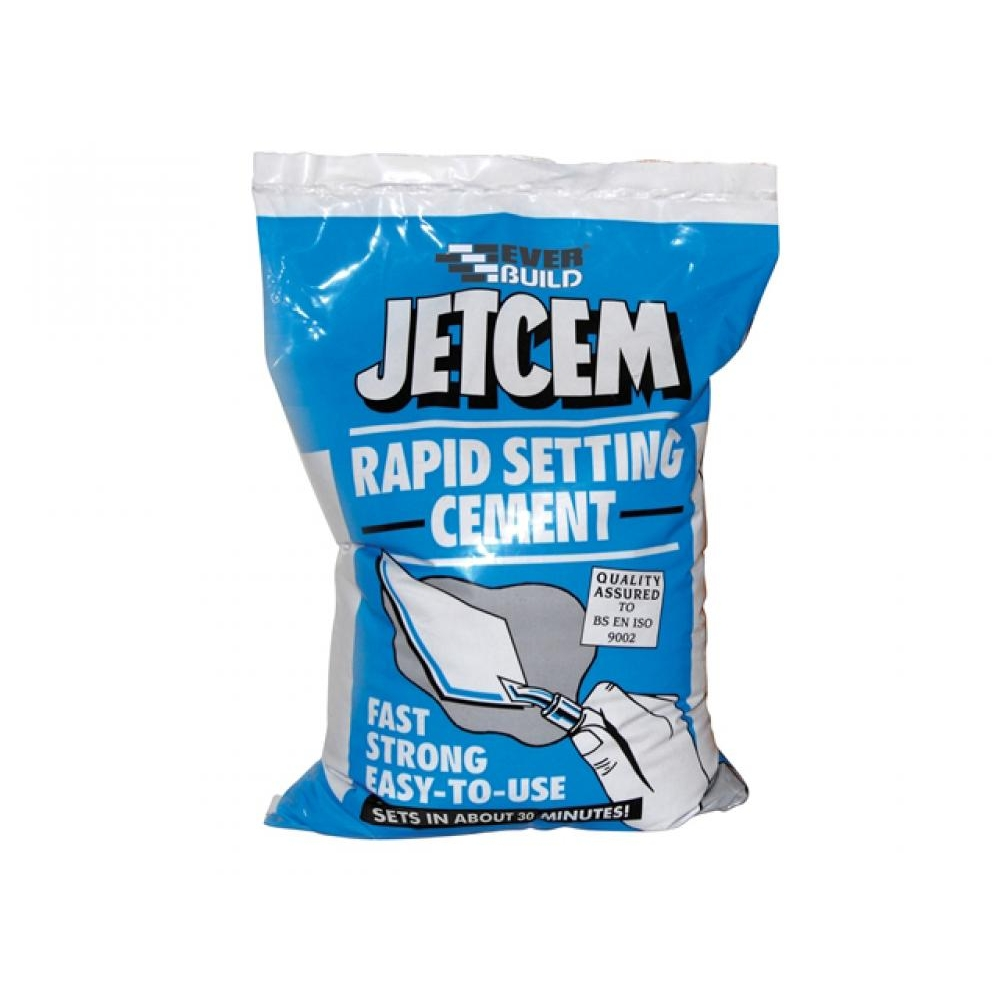 Everbuild Jetcem Rapid Set Cement 3kg
