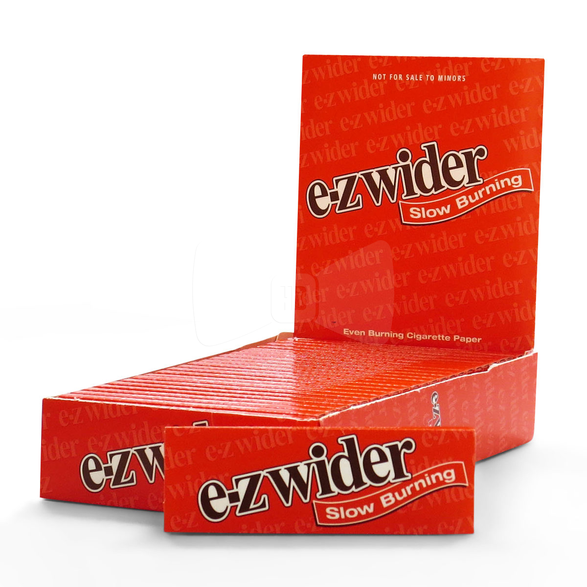 E-Z Wider Orange Rolling Papers Box