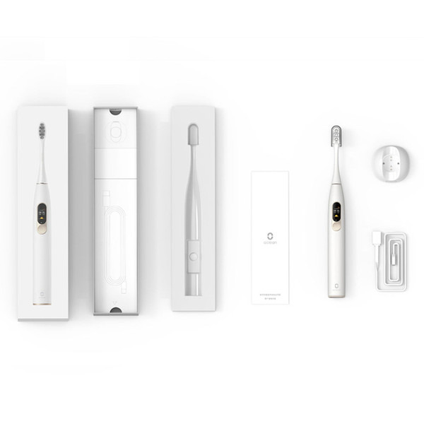 xiaomi youpin global vesion oclean x for xiaomi sonic electric toothbrush rechargeable waterproof ultrasonic tooth brush