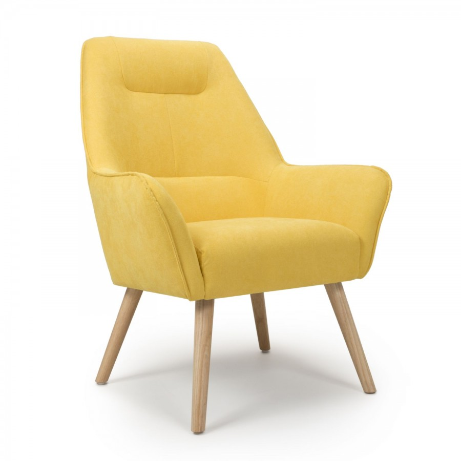 Pacific Accent Armchair- Yellow