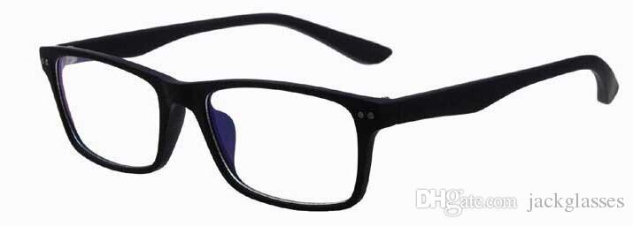 Retail brand gafa glasses frames colorful plastic optical frames plain Ramki okularow eyewear glasses Skla bryle 8145