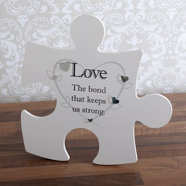 Love Jigsaw Hanging Wall Art
