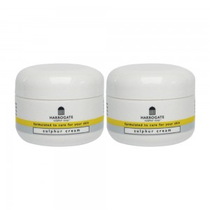 Harrogate Sulphur Cream - With Shea Butter and Vitamin E - 2 Packs