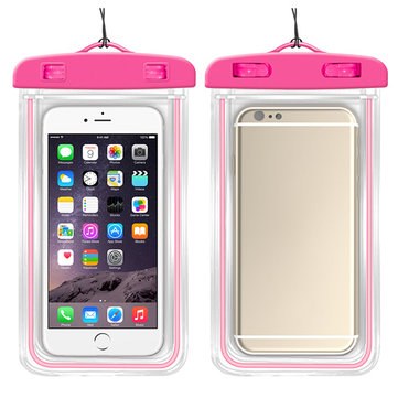 PVC Waterproof 5.5inch Phone Bag Outdoor Swim Travel Storage Bag