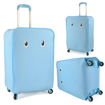 """Open Your Eyes""Luggage Travel Protector Suitcase Cover Trolley Suitcase Bags Dustproof"
