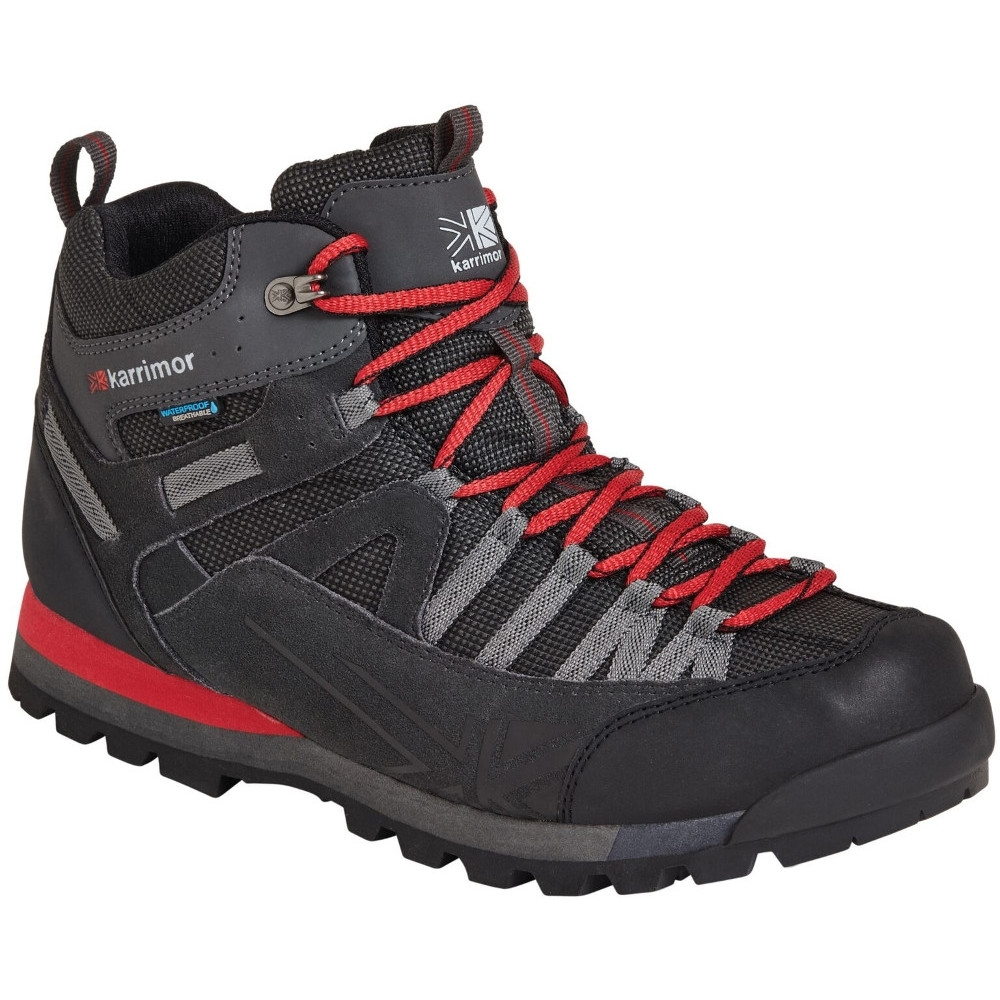 Karrimor Mens Spike Mid 3 Weathertite Durable Fabric Walking Boots UK Size 7 (EU 41  US 8)