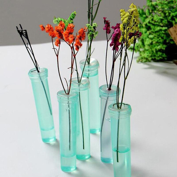 100pcs Flower Nutrition Tube Plastic Floral Water Tube With Cap Keep Fresh Rhizome Hydroponic Container For Flower1