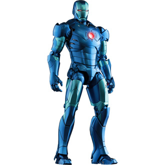 Iron Man Mark III Stealth Mode Version Poseable Figure from Iron Man