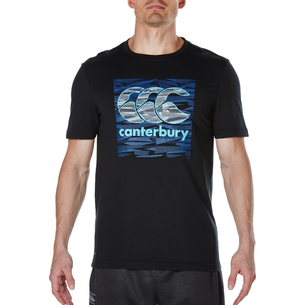 Canterbury Clothing Mens Vapodri Round Neck CCC Logoed T Shirt M - Chest 39-41' (99-104cm)