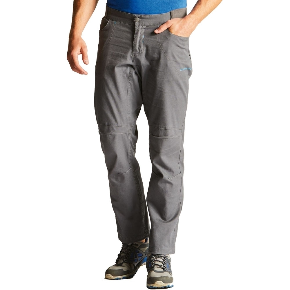 Dare 2b Mens Intendment Cotton Stretch Canvas Durable Walking Trousers 30 - Waist 30'