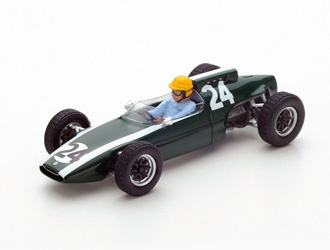 Cooper T60 (Tony Maggs - French GP 1962) Resin Model Car