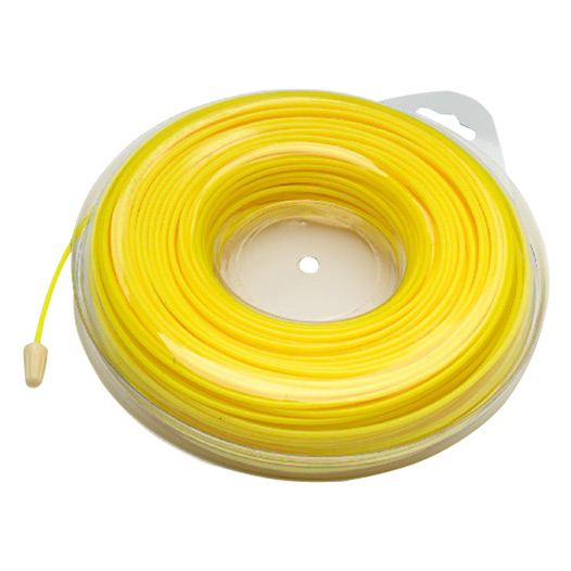 Garden Strimmer Line, Yellow 2.4mm x 90 Metres