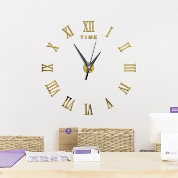 Large 3D DIY Wall Clock