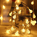 3m String Lights 20 LEDs 1 set Warm White / RGB / White Creative / Party / Decorative Batteries Powered