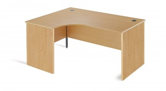 Panel End Ergonomic Office Desk 1600mm