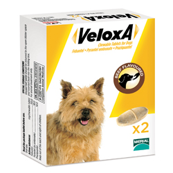 Veloxa Chewable Tablets For Small/Medium Dogs Up To 10 Kg 8 Tablet