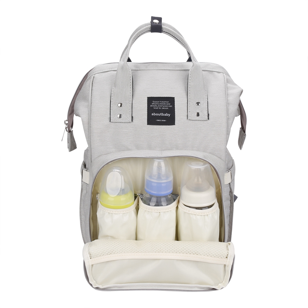 Durable Convenient Large Capacity Diaper Bag Backpack