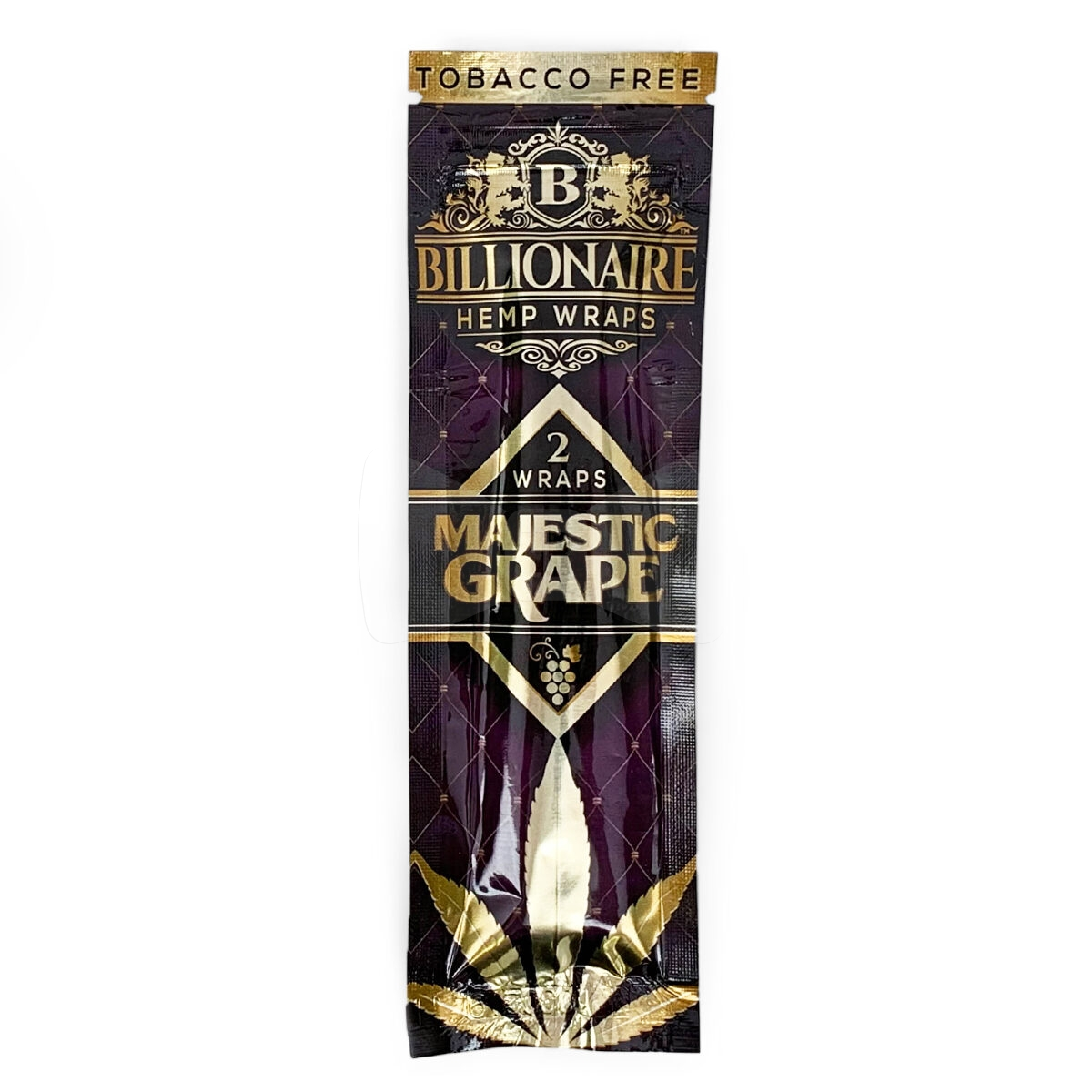 Billionaire Hemp Wraps Majestic Grape Single Pack