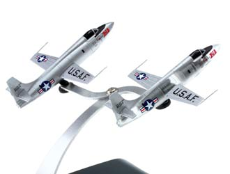 Bell X-1A Two Plane Set Diecast Model Airplane