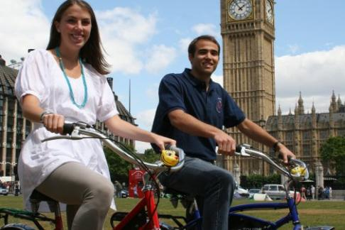 Fat Tire Bike Tours - River Thames Bike Tour