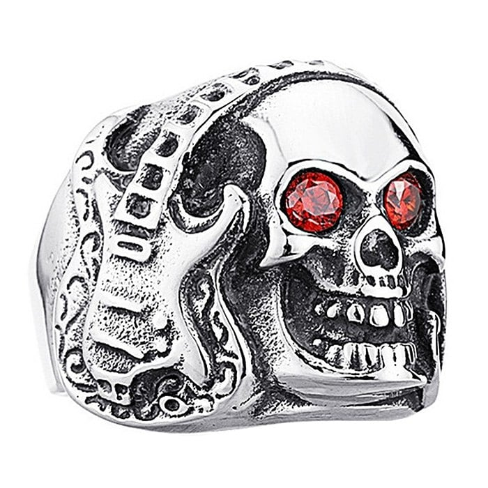 Men Ring Alloy Creative Pattern Halloween Play