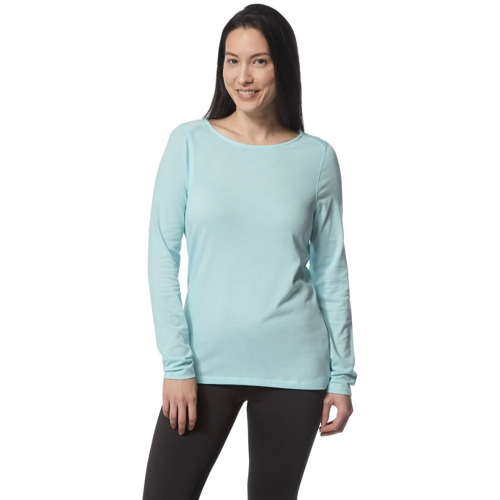 Craghoppers Womens Nosi Life Erin Long Sleeve Summer Top 16 - Bust 40