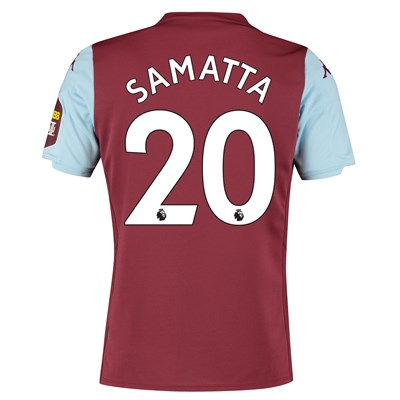 Aston Villa Home Shirt 2019-20 with Samatta 20 printing