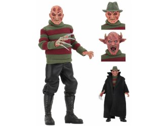 Freddy Krueger Clothed Poseable Figure from Nightmare On Elm Street Wes Craven`s New Nightmare