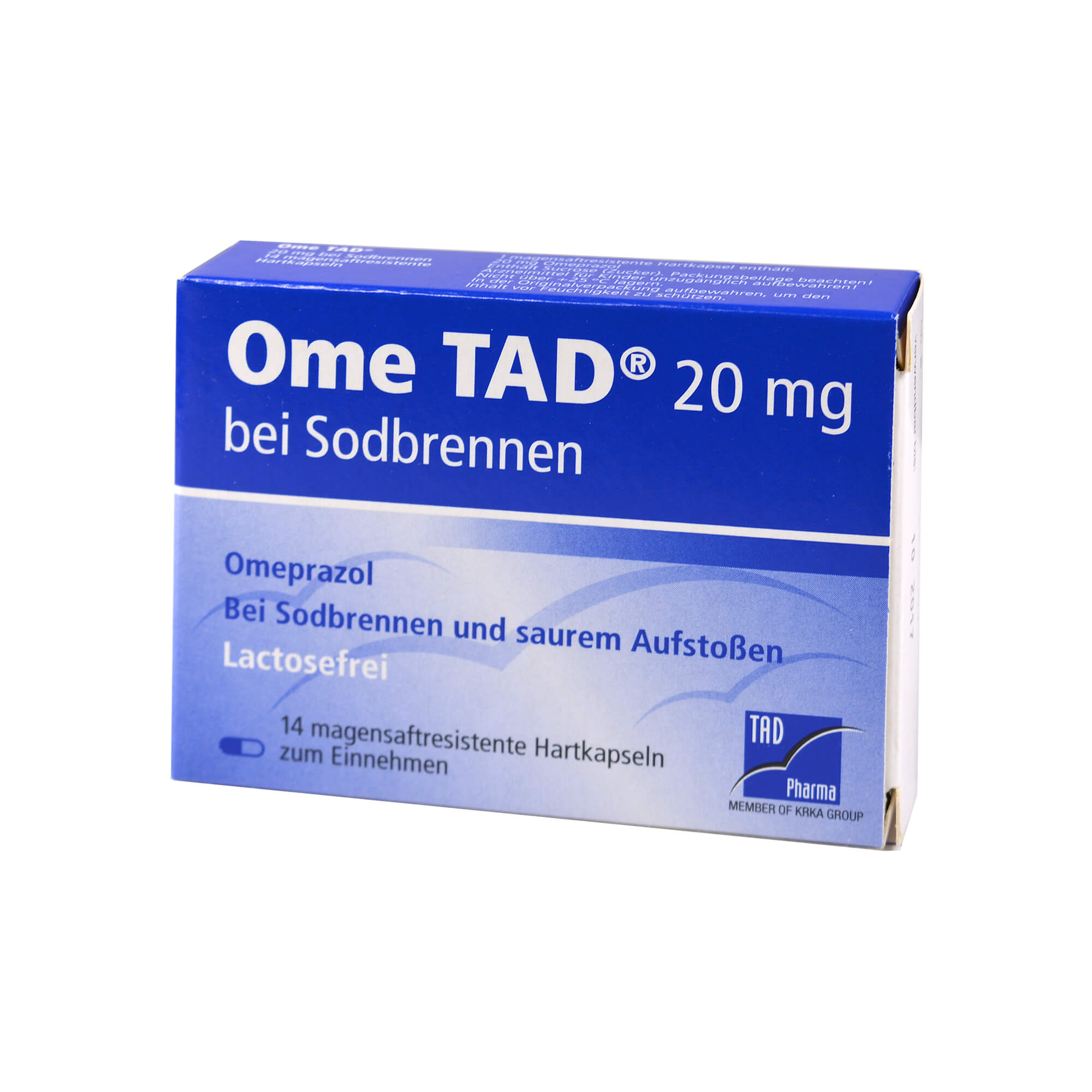 Ome Tad 20mg bei Sodbrennen