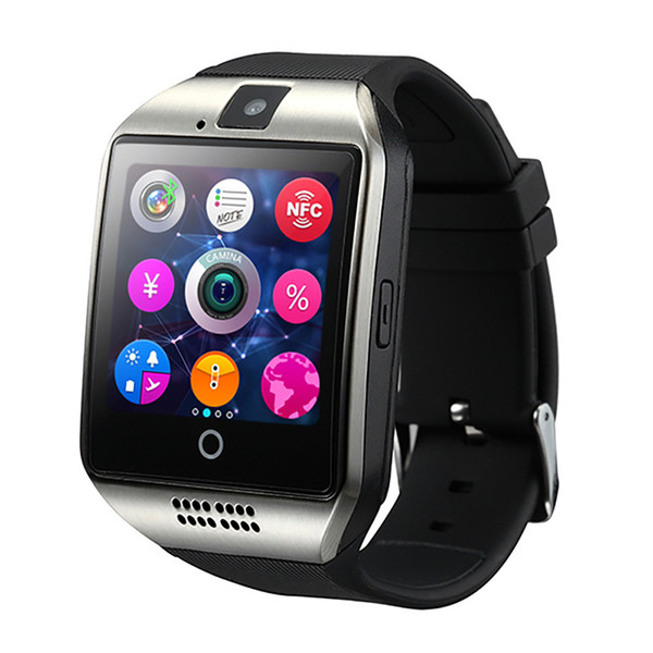 Q18 smart watch mobile phone wristband touch screen positioning watch supports multiple information synchronous photo taking exercise health