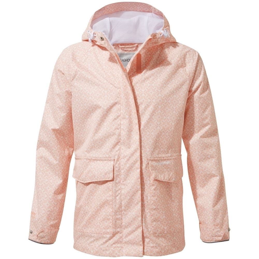 Craghoppers Girls Abelie Waterproof Lightweight Walking Coat 3-4 years