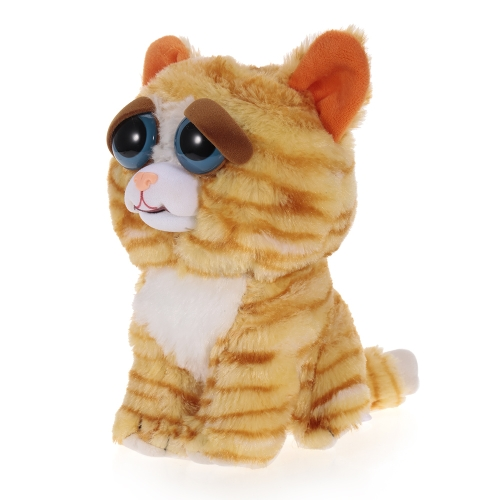 Feisty Pets Princess Pottymouth Adorable Plush Stuffed Cat Turns Feisty with a Squeeze